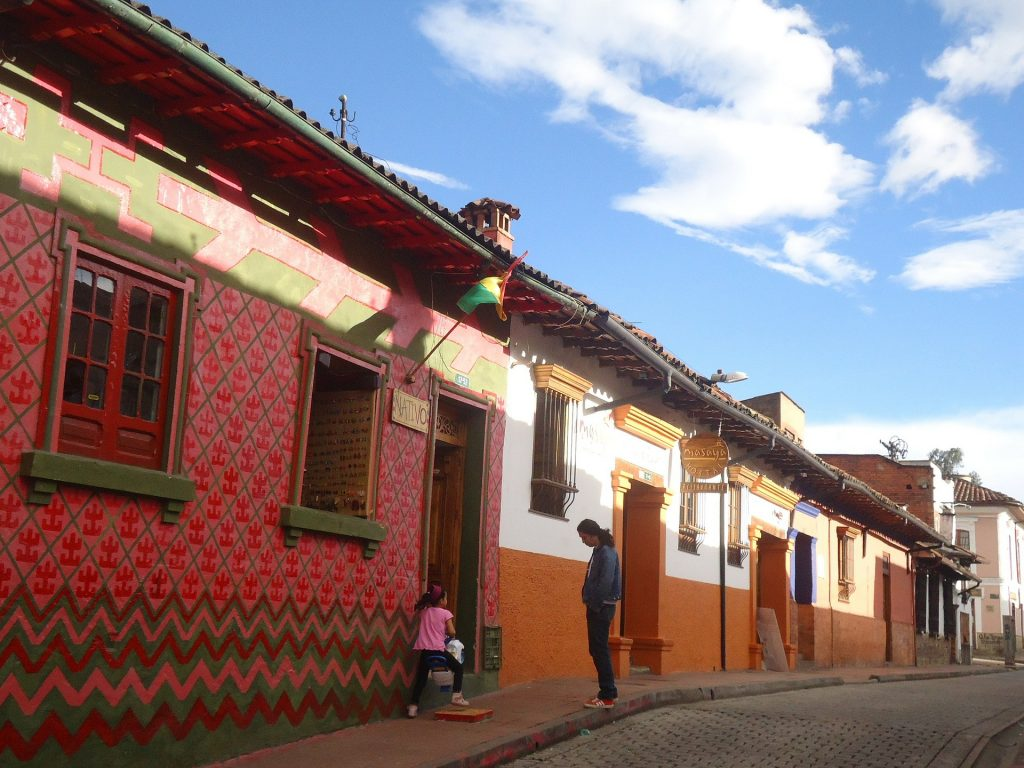 La Candelaria, a historic downtown neighborhood